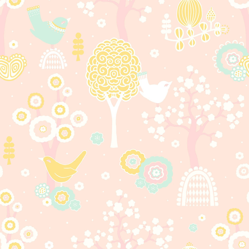Majvillan Wallpaper | Cherry Valley Pink