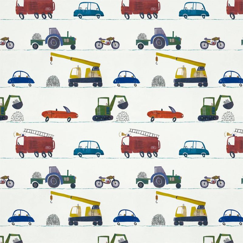 Just Keep Trucking Wallpaper by Harlequin for Boys rooms.
