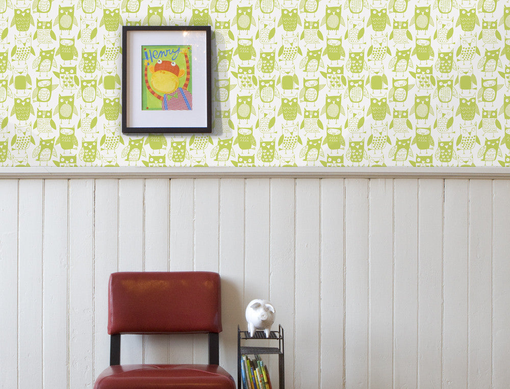 Loboloup Kids Wallpaper - owls