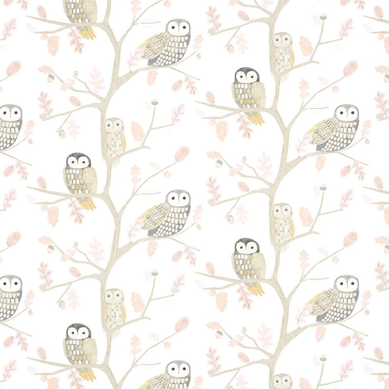 Little Owls Wallpaper by Harlequin