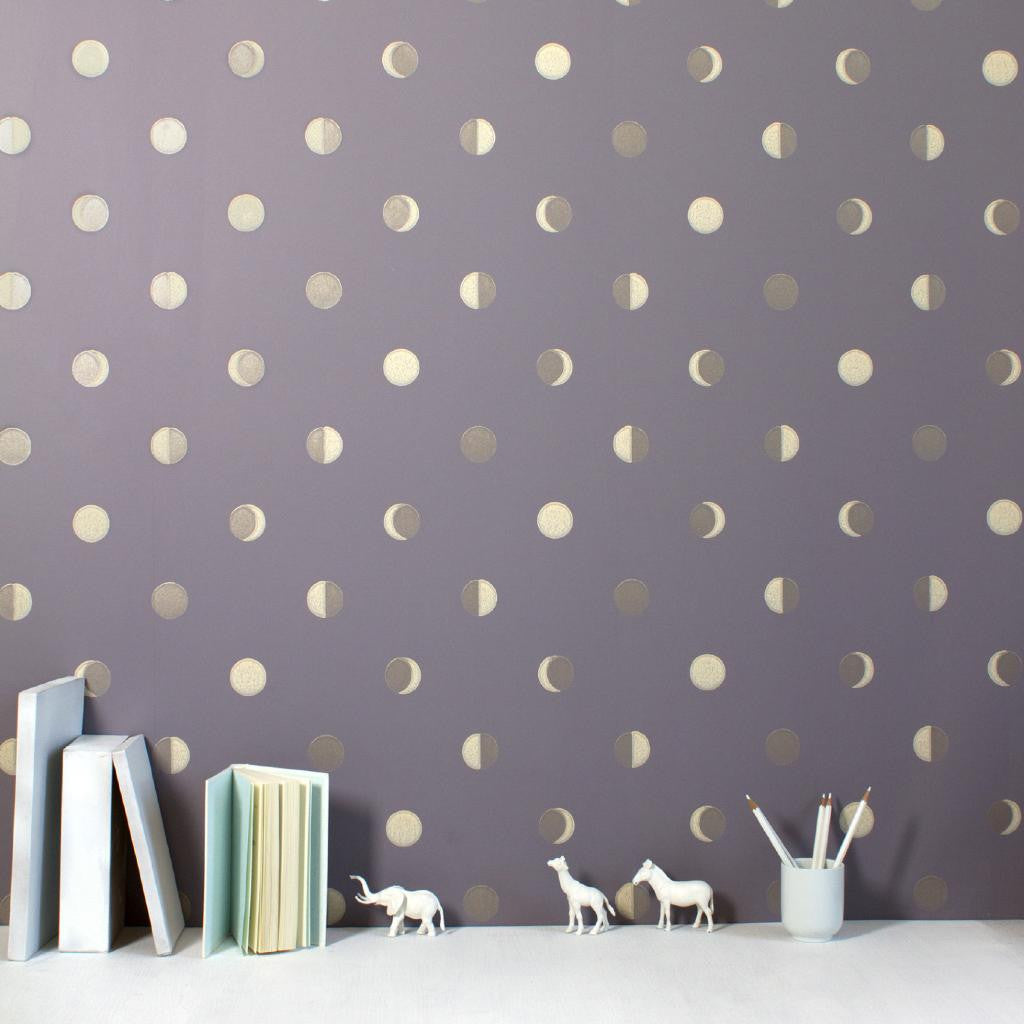 Bartsch Wallpaper | Moon Crescent Rutabaga