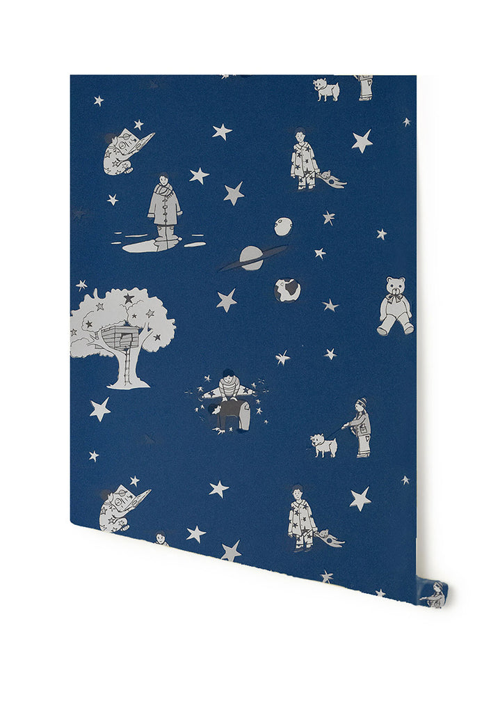Once Upon A Star Wallpaper by Katie Bourne Interiors 10m x 52cm