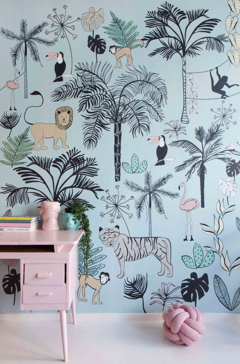 Jungle Wallpaper Onszelf Studio Claas 842197