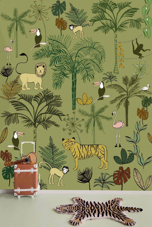 Jungle Wallpaper for Kids Rooms Onszelf studio class 842142