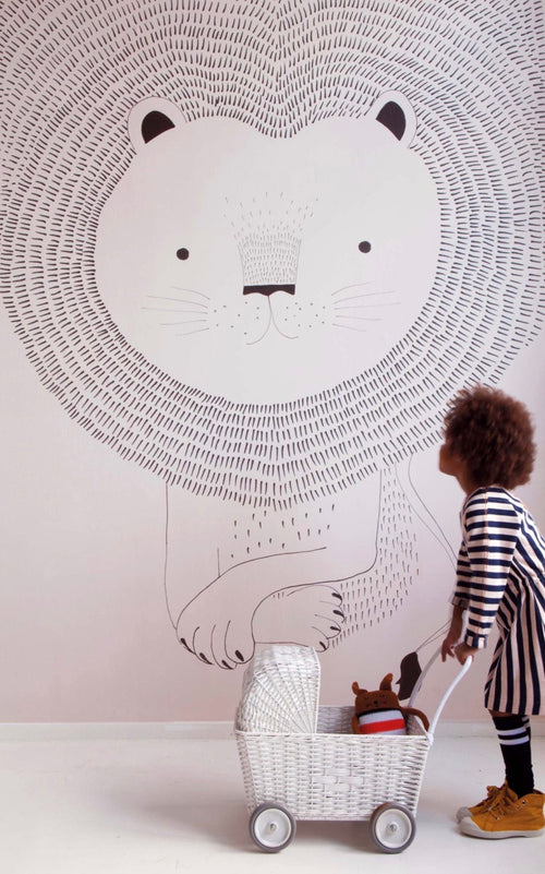 Lion Wallpaper Mural Onszelf 842272