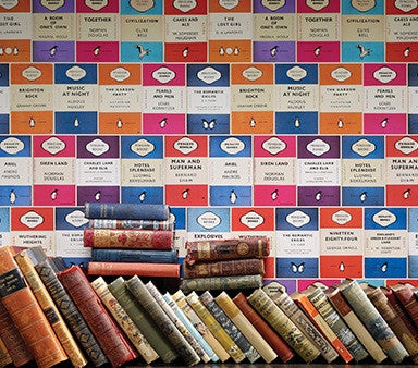 Penguin Library Wallpaper Osborne & Little