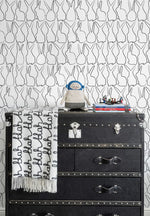 Sissy & Marley Hop Wallpaper | Charcoal