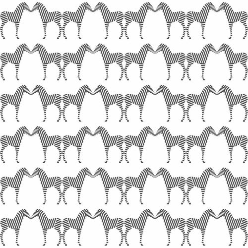 Zee Wallpaper in Charcoal | Sissy & Marley Kids Wallpaper