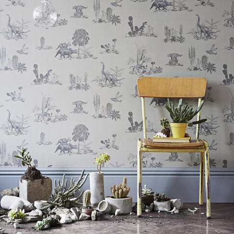 PaperBoy Wallpaper | 'How it works' | Stone & Brown