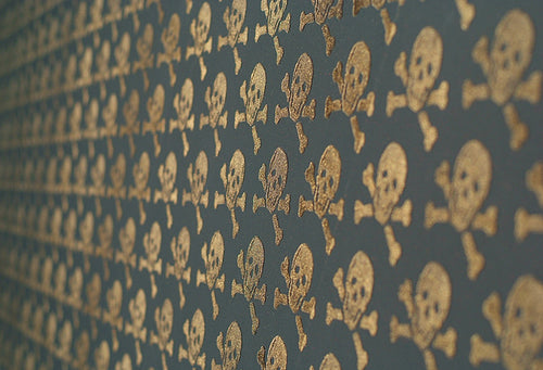 Skulls 08 Wallpaper by Beware The Moon available at Just Kids Wallpaper