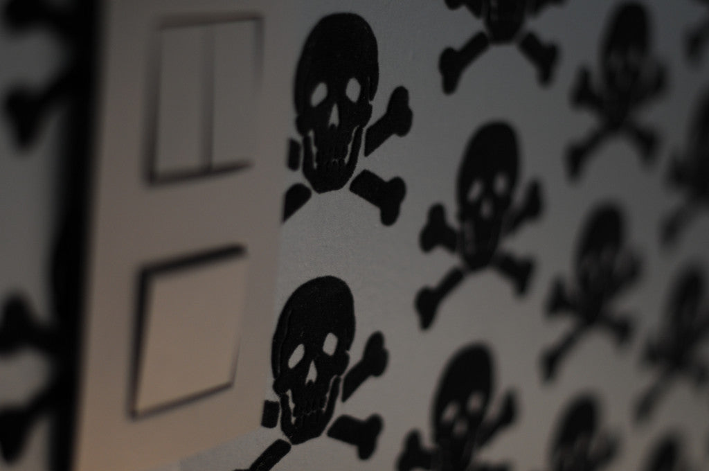 Skulls 09 Wallpaper by Beware The Moon available at Just Kids Wallpaper