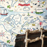 Sanderson Wallpaper | Treasure Map 214040