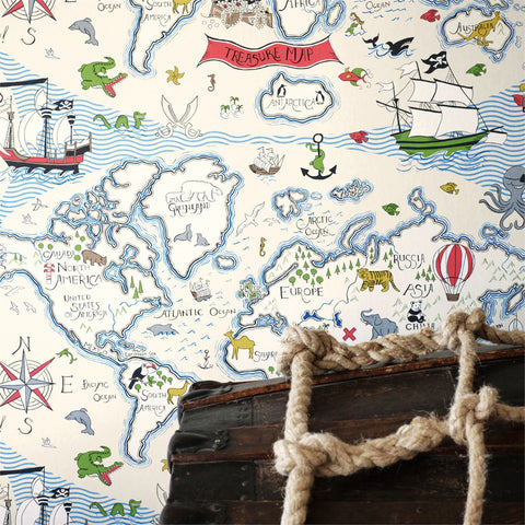 YSD London Wallpaper | Swimming in the Sea North