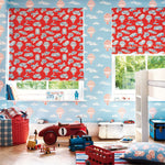 Little Sandersons Wallpaper | Balloons | Blue & Red