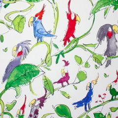 Osborne & Little - Cockatoos Childrens Wallpaper W6060-01