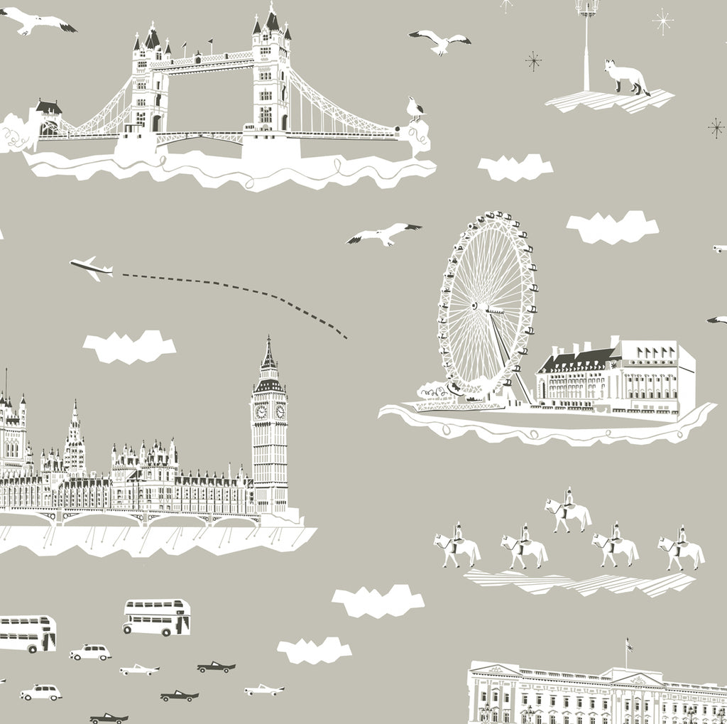 YSD London Wallpaper | Wish you were here in London , Evening Fog