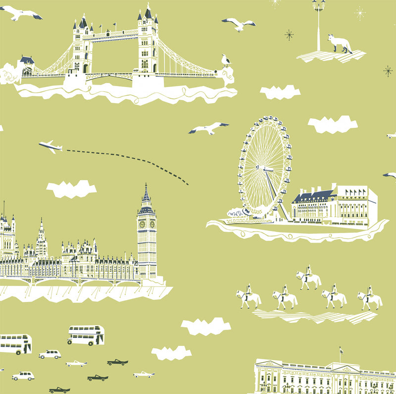 YSD London Wallpaper | Wish You Were Here in London (Summer Holiday)