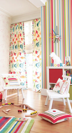 Harlequin Rush Wallpaper 70532, childrens wallpaper at Just Kids Wallpaper