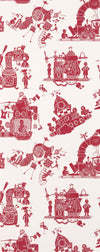 PaperBoy Wallpaper. When I Grow Up in Red & White. Just Kids Wallpaper