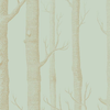 Cole & Son Wallpaper Woods 103/5023 Green & Gold