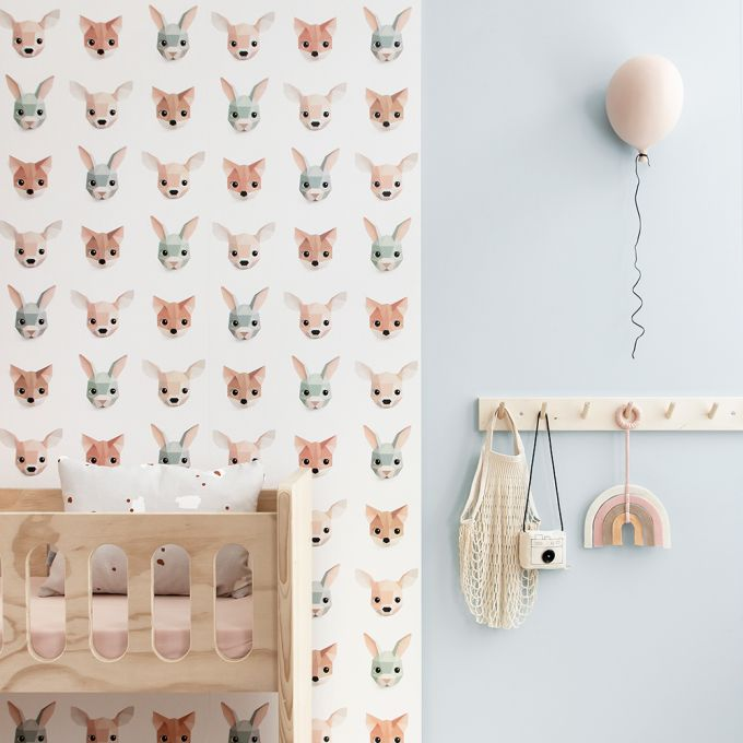 Forrest Animals Kids Wallpaper | Studio Ditte Australia