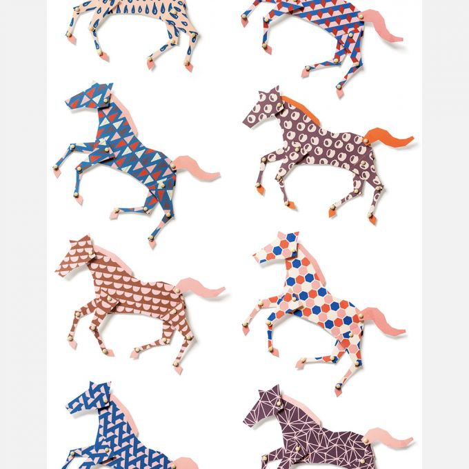 Horses Wallpaper by Studio Ditte