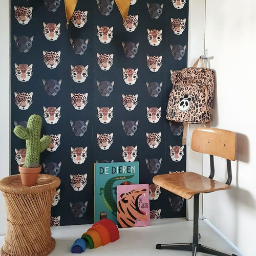 Panthera Dark Wallpaper by Studio Ditte
