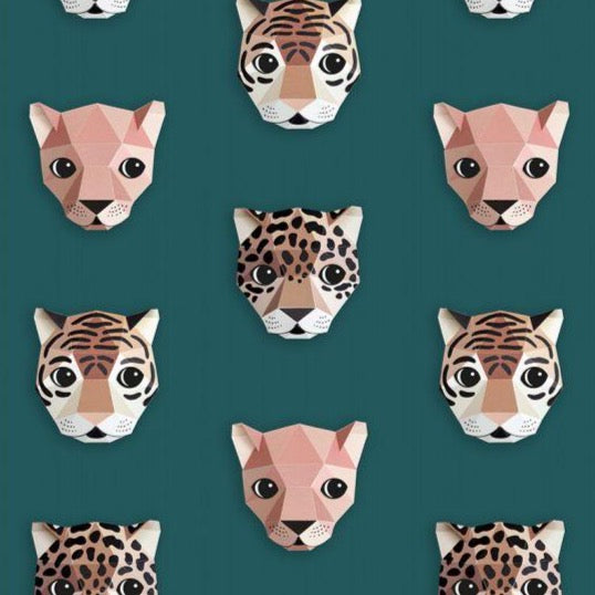 Studio Ditte Wallpaper | Panthera Green