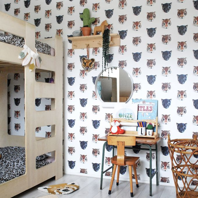 Panthera Wallpaper by Studio Ditte