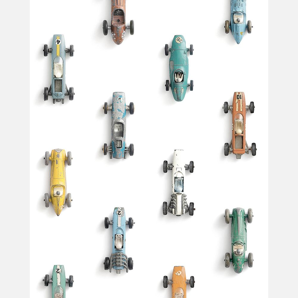 Race Cars Wallpaper | Studio Ditte