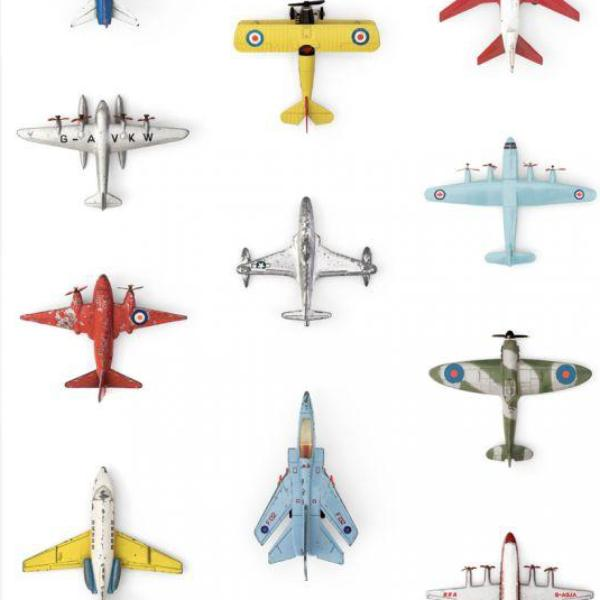 Studio Ditte Aeroplanes Wallpaper