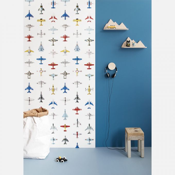 Planes Wallpaper by Studio Ditte