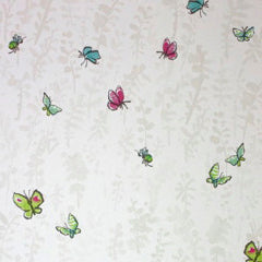 Osborne & Little Kids Wallpaper Butterfly Meadow W6061-04