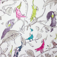 Osborne & Little - Cockatoos Kids Wallpaper