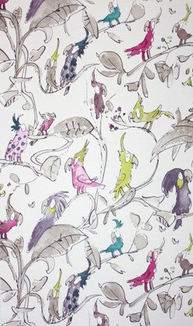Osborne & Little Wallpaper | Cockatoos W6060-03