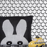 Sissy & Marley Dreams Wallpaper in Charcoal