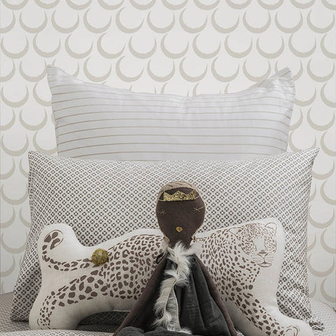 Marley+Malek Kids Wallpaper | Kingdom in Charcoal