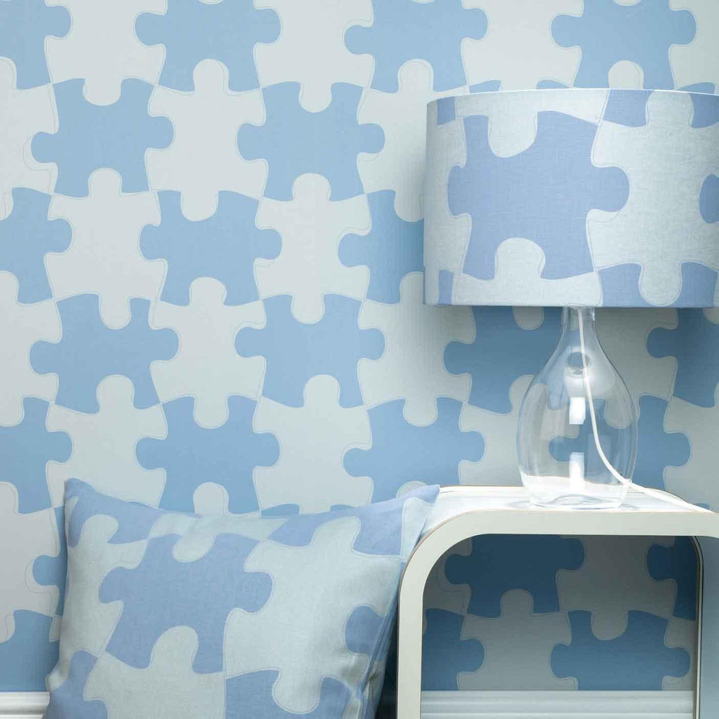 PaperBoy 'It's a Puzzle' Childrens Wallpaper