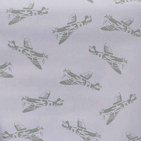 PaperBoy Wallpaper | Spitfires | Blue