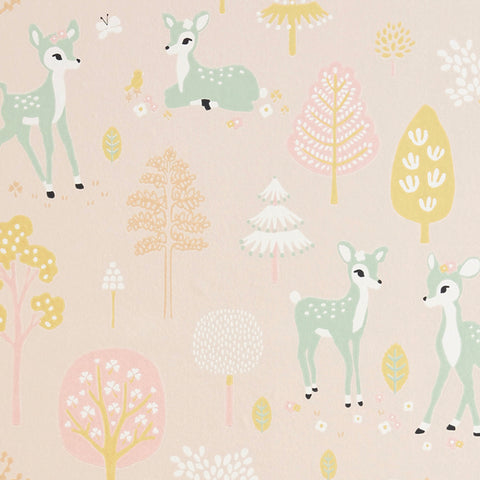 Majvillan Wallpaper | Rainbow Treasures Mud Grey