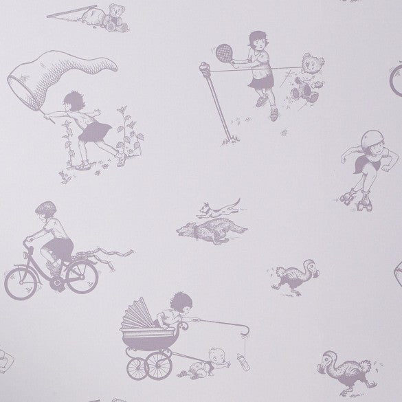 Close up of Miss General Chief Wallpaper in Heather