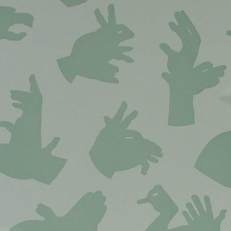 PaperBoy 'Hand Made' Dark Green wallpaper