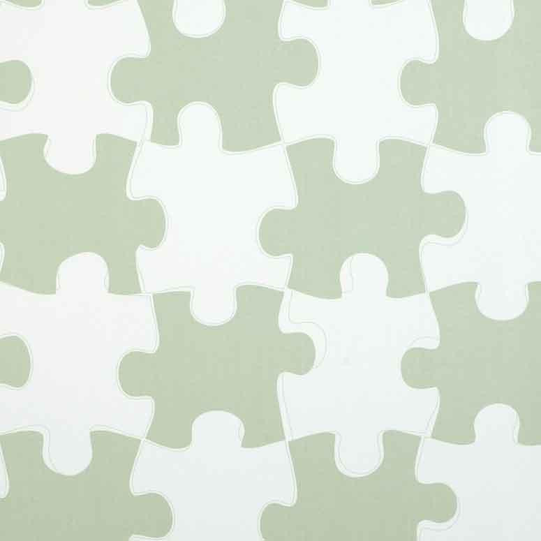 Childrens Wallpaper - Its a Puzzle by Paperboy