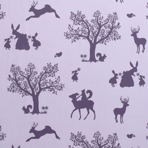 Hibou Home Enchanted Wood Wallpaper. Kids Wallpaper