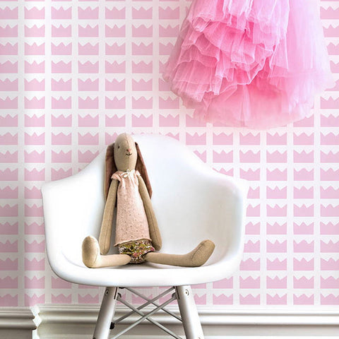 Marley+Malek Kids Wallpaper | Zee in Pink