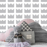 Sissy & Marley Wallpaper | Kingdom in Silver.