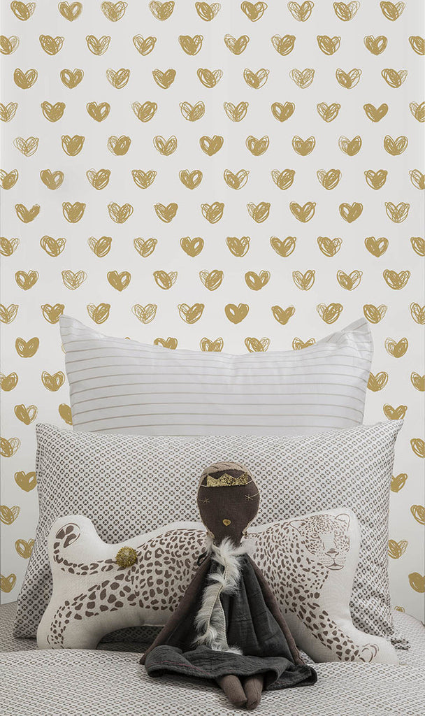 Sissy & Marley Wallpaper | Love Gold