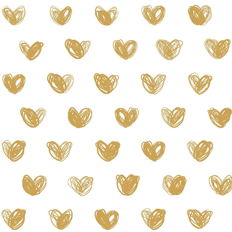 Sissy & Marley Love Gold Wallpaper Austrlia