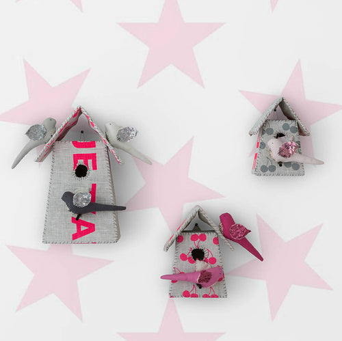 Sissy & Marley Wallpaper Lucky Star in Petal Pink