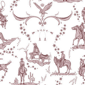 YSD London Wallpaper - Wild West Toile (Sukara)